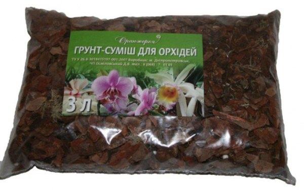 Готовый субстрат для орхидеи Фаленопсис