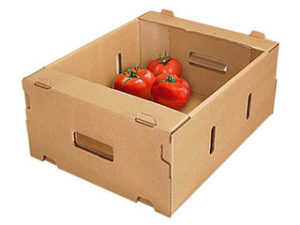 Овощные лотки из гофрированного картона